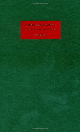 American Studies: An Annotated Bibliography (Volume 2)