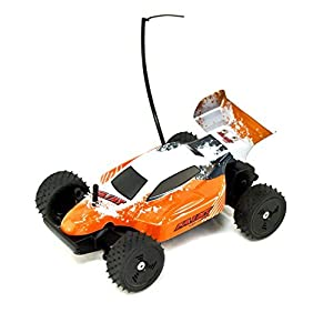 ALEKO® 189116B AAA Battery Powered Off-Road RC Toy Buggy, Black 1/24 Scale
