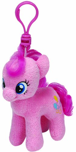 My Little Pony Beanie Babies Pinkie Pie Clip Plush - 1