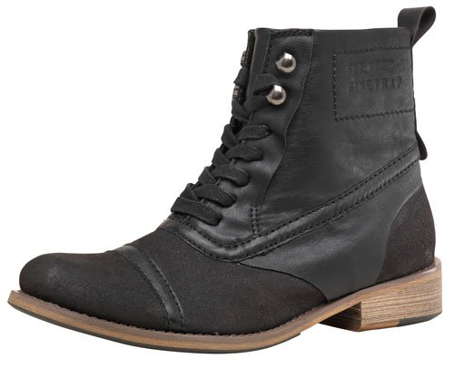 Firetrap Womens Balmoral Boots Black 6 UK