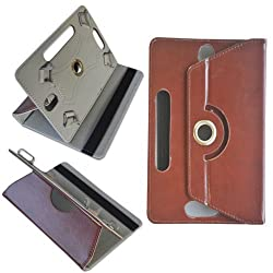 Universal 7 Inch Tablet Pouch Rotate Flip Cover for Tab Carry Case Leather 7