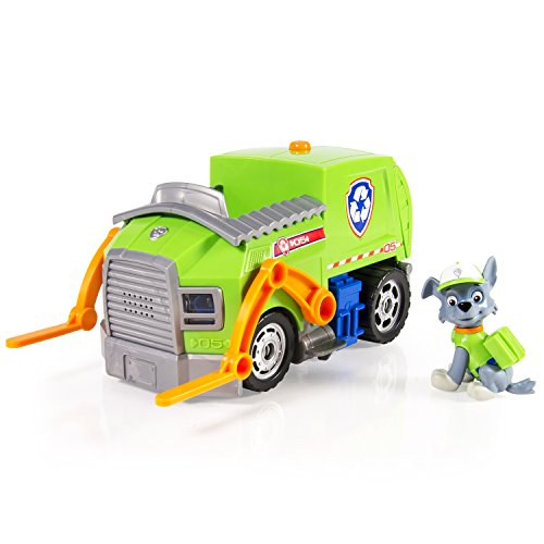Paw Patrol- Rocky's Lights and Sounds Recycling Truck (Red Truck Moving Company compare prices)
