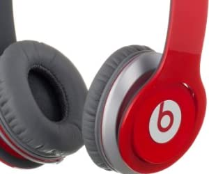beats by dr.dre beats solo HD ���󥤥䡼���إåɥե��� ��å� BT ON SOLOHD RED