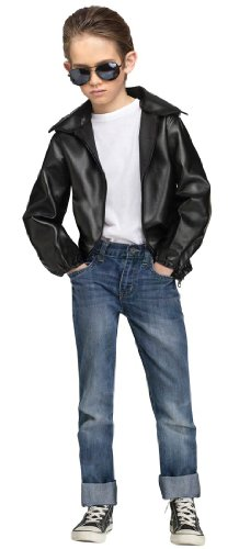 T-Bird Gang Jacket Kids Costume