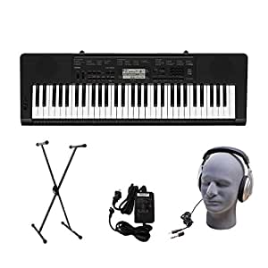 Casio CTK-3200 61-Key Premium Portable Keyboard Package