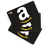 Amazon.com $15 Gift Cards - 3-pack (Classic)