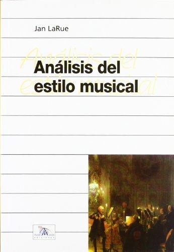 ANALISIS DEL ESTILO MUSICAL