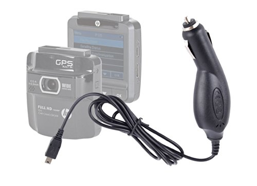 Duragadget Replacement In-Car Power Supply Charger Lead For The Hp F-210 In-Car Camcorder (F210)