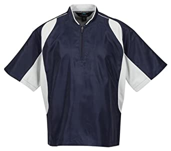 Tri mountain men 39 s big and tall sports windshirt navy for Big and tall athletic shirts