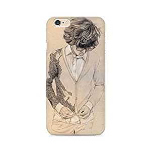 MOBICTURE Girl Abstract Premium Designer Mobile Back Case Cover For Apple iphone 6/6s back cover,iphone 6/6s back case,iphone 6/6s back case cover,iphone 6/6s cover,iphone 6/6s cases and covers