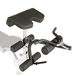 IRONMAN Triathlon X-Class Olympic Preacher Curl & Leg Developer Attachment