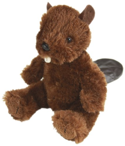 "Purr-Fection Tender Sitting Friend Beaver 6"" Plush"