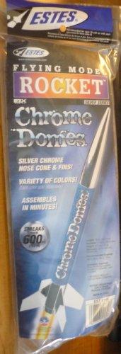 Estes Crome Domes Silver Chrome Model Rocket Kit