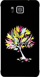 Timpax Protective Armour Case Cover lightweight construction easily slides in and out of pockets. Multicolour Printed Design : A tree in a forest.Exclusively Design For : Samsung Galaxy ALPHA