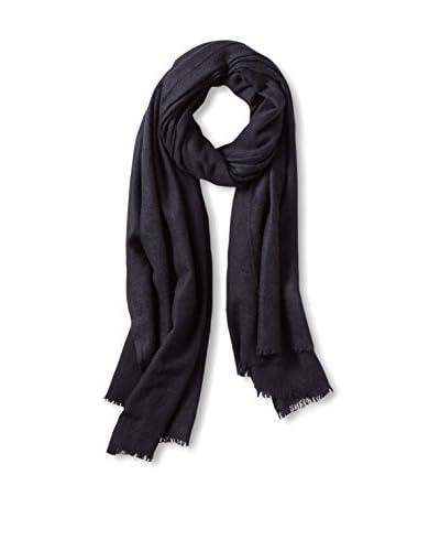 Portolano Women's Cashmere Wrap, Dark Navy