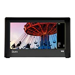 Ikan VH8-E6 8-Inch HDMI Monitor with HD Panel with Canon LP-E6 DV Battery Plate (Black)