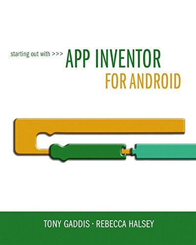 Starting Out With App Inventor for Android (Android Apps With App Inventor compare prices)