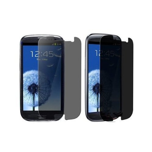 Importer520 3X Anti-Spy Privacy Lcd Screen Cover Guard For Samsung Galaxy S Iii S3 I9300 (At&T, T-Mobile, Sprint, Verizon, Us Cellular, International)