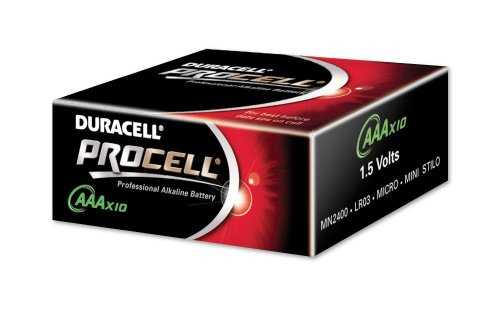 Duracell ProCell AAA Batteries - 10 Pack