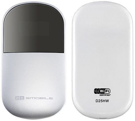 "EMOBILE D25HW ""Pocket Wi-fi""新品未使用品"