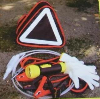 Roadside Auto Emergency Kit/ Jump Lead/ Tools/ Light