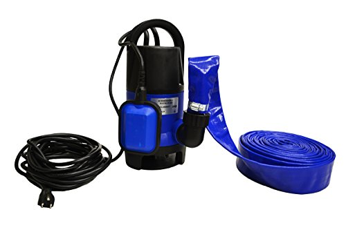 Hot Tub and Pool Submersible Drain Pump and 25' Water Hose (Up To 2,000 Gallons Per Hour) (Drain Hot Tub compare prices)