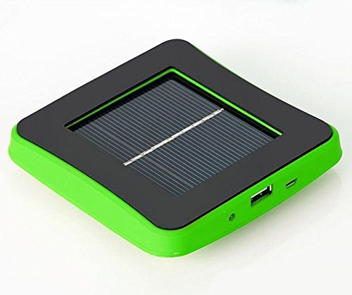 JJF Bird®nergy Saving Universal Solar Window Charger Rechargeable Solar Panel Battery(1800mAh) Charger Cellphone Portable Power Bank External Battery Pack with USB Cable for Iphone 4 4s 5 5g Galaxy S4 S3 Note Note 2; HTC One, Evo, Thunderbolt, Incredible, Droid Dna; Motorola Moto X, Atrix, Droid; Google Nexus 4, 5, Etc(green)