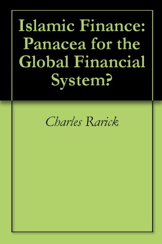 Islamic Finance: Panacea for the Global Financial System?