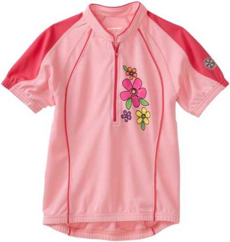 Kanu Bike Girl's So Sweet Cycling Jersey (Pink, X-Small) (Girls Cycling Jersey compare prices)