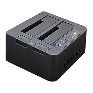 センチュリー 裸族のお立ち台DJ クローンプラス HDDコピー機能搭載 CROS2EU2CP