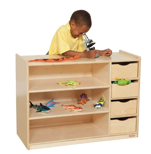 "Wood Designs Wd14475 Storage Center With Drawers, 26 X 36 X 15"" (H X W X D)"