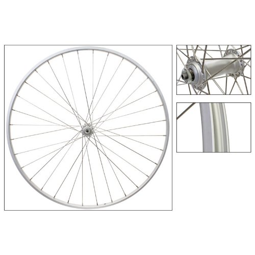 Wheel Master 700c Road Front Wheel - 700 x 25, Weinmann AS23X Rim, Alloy Hub, 36H, QR, Silver