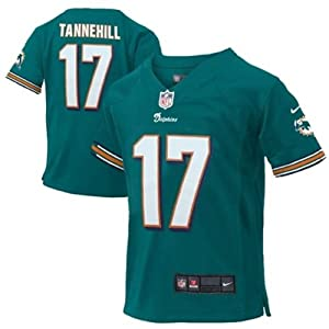 Ryan Tannehill Miami Dolphins NFL Kids Sizes 4-7 Jersey Aqua by OuterStuff