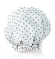 Body Care Spot Print Shower Cap