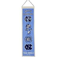 Buy NCAA North Carolina Tar Heels Heritage Banner by Winning Streak