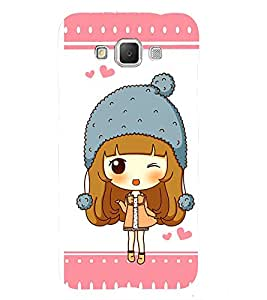 Fuson Premium Back Case Cover Cute baby With red Background Degined For Samsung Galaxy Grand 3 G720::Samsung Galaxy Grand Max G720