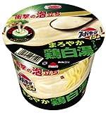 エースコック スーパーカップ1.5倍 衝撃の泡立ち 鶏白湯ラーメン 1ケース(12食入)
