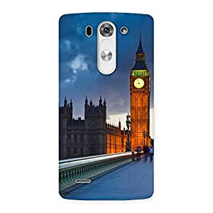 Special London City Multicolor Back Case Cover for LG G3 Mini