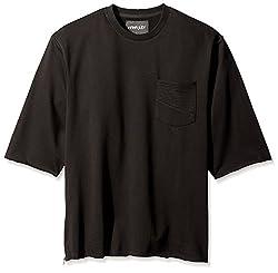 nANA jUDY Men's Sweat Shirt, Black, L