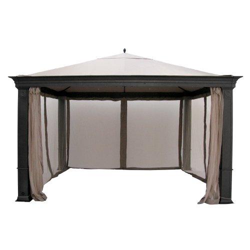 Canopy For Backyard Target : Gazebo Prices Outdoor Patio Tiverton Gazebo Replacement Canopy