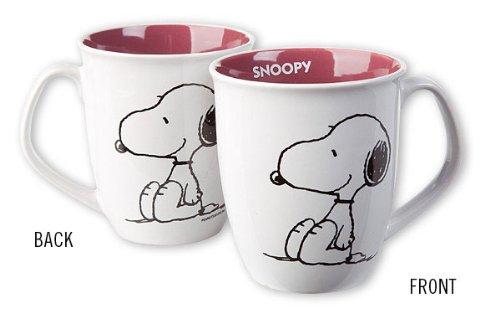 Peanuts - Ceramic Coffee / Cocoa Mug (Snoopy / White)