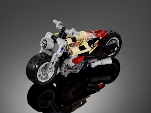 K'nex Style Plastic Motorcycle Construction Kit Puzzle - 3404