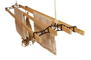 Classic Clothes Airer (Black - 1.5m / 4.11ft)