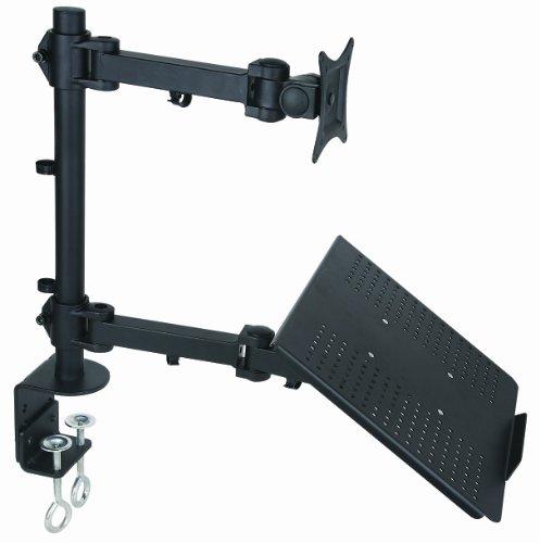 Halter Articulating Single Arm LED/LCD Monitor Desk Mount Laptop Desk Arm