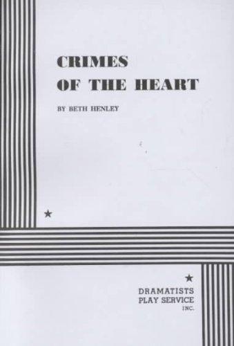 CRIMES OF THE HEART - PLAYBILL - JANUARY 1982