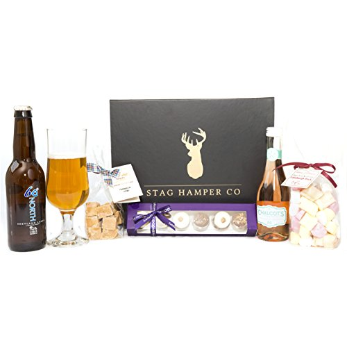 Craft Beer and Wine Spritzer Gift Box For Two - By Stag Hamper Co