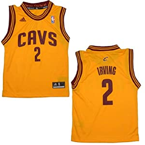 NBA CLEVELAND CAVALIERS IRVING #2 Youth Athletic Jersey Top by NBA