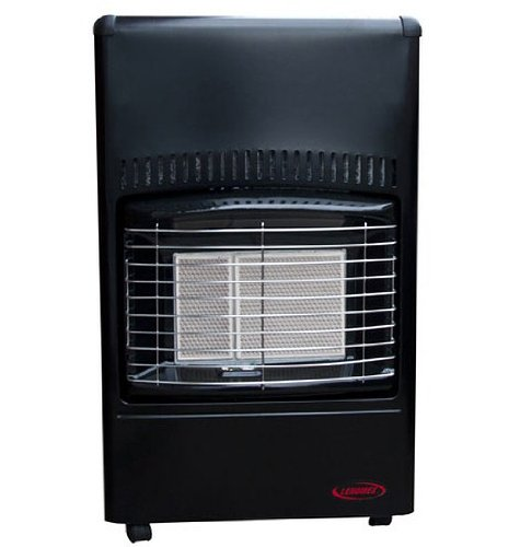 BLACK SUPERSER CALOR GAS PORTABLE HEATER