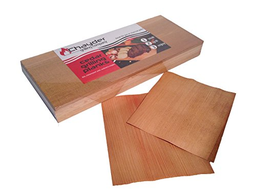 Find Discount Premium Cedar Grilling Plank 6 Pack of Grilling Planks Includes 2 Free Cedar Wraps and...