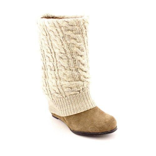 Steve Madden Aspen Casual Boots Beige Womens UK 4
